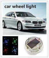 New Solar Energy Power design LED Car Wheel Lights