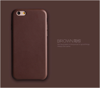 Premium Leather Case for iPhone 6, For iPhone 6 Case Cheap Leather/PU Leather Back Cover Optional