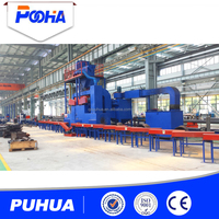 shot blasting machine for solid square steel and round bar steel surface cleaning