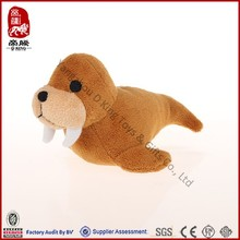 Custom ICTI SEDEX animal toy stuffed plush seal