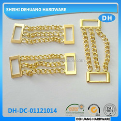 high quality metal decorative chain for handbags/garment in China