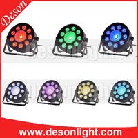 led par tri 24x3w wash american dj par rgb 3in1 dmx led flat par light