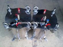80L de acero al carbono de silicona de presión tanque de presión del tanque resina cubo