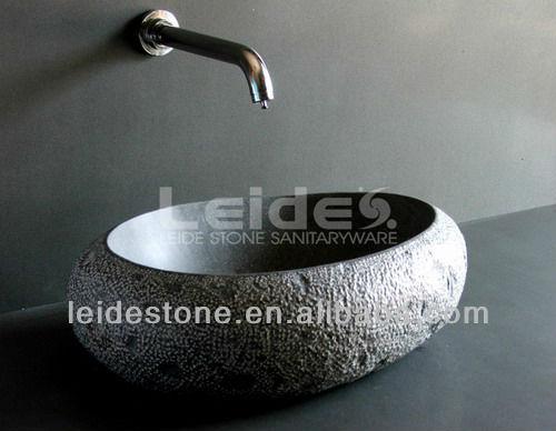 bad granit sp lbecken stein waschsch ssel. Black Bedroom Furniture Sets. Home Design Ideas