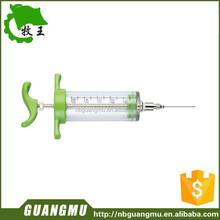 large veterinary enema syringe