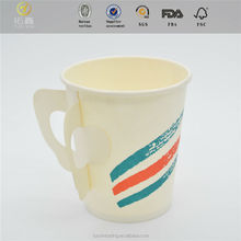 Single Wall Hot Drink Paper Cup with handle in cn