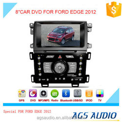 AGS special 8'' touch screen car dvd player for FORD EDGE 2012