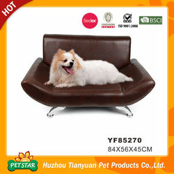 Professional Factory Direct Leatherette Easy Clean Sofa Bed Luxury Pet Dog Beds