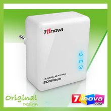 200Mbps High Speed Mini HomePlug / Powerline Ethernet Network Adapter