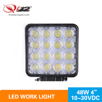 "Super Bright Cheap price 4.5"" square off road led work light offroad led lighting,48w led work light"