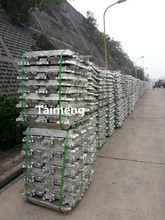 99.70% Aluminum ingot with high quality.