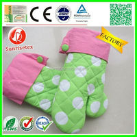 Hot sales cheap Heat-resistant cotton oven mitt factory