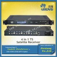 4 to 4 free to air digital hd satellite receiver