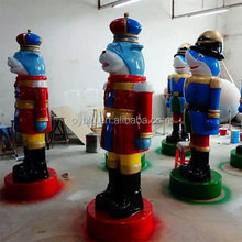Christmas soldiers, christmas ornaments, fiberglass Christmas decoration soliers