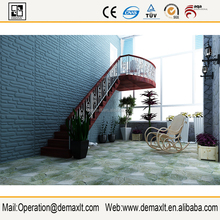 Hotsales From China Guangzhou decorative Plant Fiber 3D Board / 3D wall panel