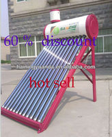 60% discount wholesale provided solar water heater,solar boiler (China factory)
