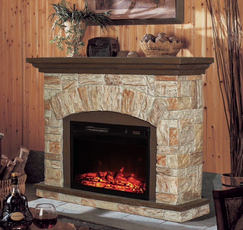 polystone electric fireplace heater buy decor flame