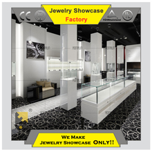 Hot 2015 jewelry display cases cabinet manufactures in guangzhou