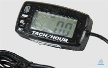 Watercrafts Waterproof Tachometer Hour Meter for PWC Boat Mini Jet Ski Marine Outboard Engine