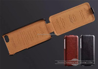 High grade vertical Flip Leather case for iphone 5c