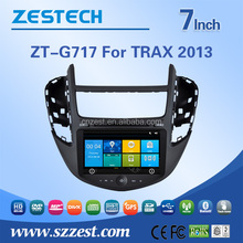 digital tv dvd car audio for Chevrolet TRAX 2013 car audio system with gps navigation ATV BT RDS