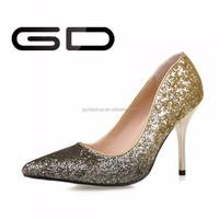 2015 china alibaba elegant women high heel shoe