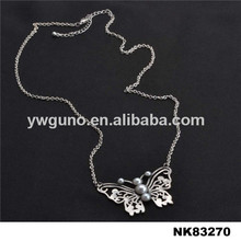 Jewelry butterfly necklace acrylic custom name necklace long necklace