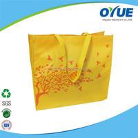 New arrival latest design non woven green shopping bags