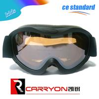 Pretty rainbow lens colorful frame KIDS ski snowboard goggles children stylish custom ski goggles