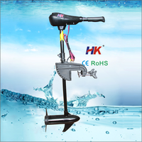 New light electric motor outboard for fishing