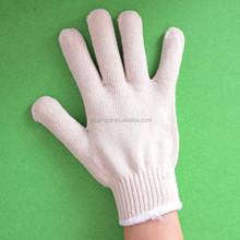 a grade cotton gloves/superior quality gloves/work safety/hot popular