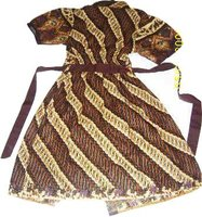 Batik fashion dress