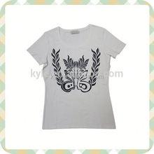 women t-shirt hot sale fashion beaded t-shirt