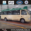 Luxury Bus Interior! China Manufacture Dongfeng Factory New Brand 16 Standard Seater Mini Coach Bus For Sale