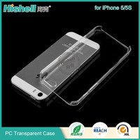 Hot sale popular pc transparent crystal phone case