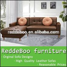 寝室の家具セット2014年小さなコーナーソファ小さい部屋のためのリビングルームの家具