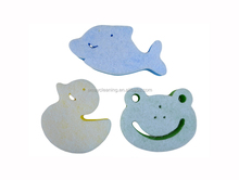 Quality manufacture relaxing baby sponge bath toy