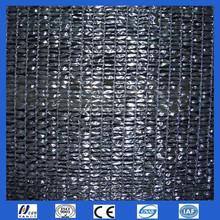 black color plastic knitted sun shade net 70% Shadow
