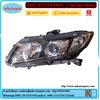 Japanese car body kits for honda civic 2012 head lamp