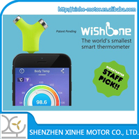 the world`s smallest smart sensor infrared thermometer for baby, for motor
