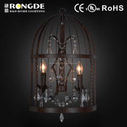 cage shaped wall lights