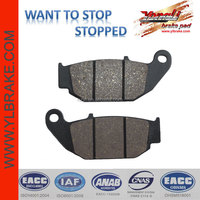 China scooter parts brake pad for NEW MEGAPRO/KRZ FRONT,Semi-metallic/cooper base/sinter/ceramic quality brake pad for motorcycl