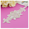 2015 Bailange wholesale fashion rhinestone trimming Rhinestone Product Type Sew-On Technics acrylic rhinestone appliques
