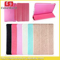 Silk Pattern Smart Tablet PU Leather Case For iPad mini 1/2/3
