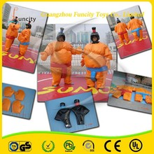 Kids and adult inflatable sumo suit,body fighting sumo suit,foam padded sumo suits