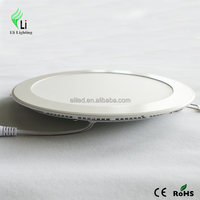 Residential smd 2835 led lights Round slim panel Light 18W AC85-265V CE ROHS APPROVAL