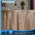 100% algodão melhor venda de produtos bordados à mão toalha de mesa de casamento extravagante overlay pano de tabela