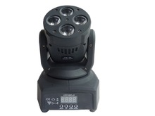 Wholesale China RGBW 4in1 4x10W LED Moving Head Light