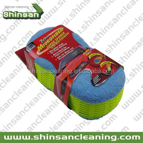 Prime de qualité de nettoyage de voiture éponge, Lavage de voiture éponge