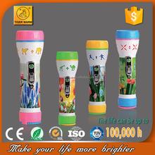 2015 hot models no.1 tiger plastic led torch flashlight TM-501